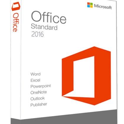 Microsoft Office 2016 Standard – 1 PC